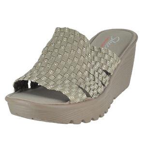 Sandalo Zeppa Parallelo Delle Donne Skechers Cali L0kwHPB