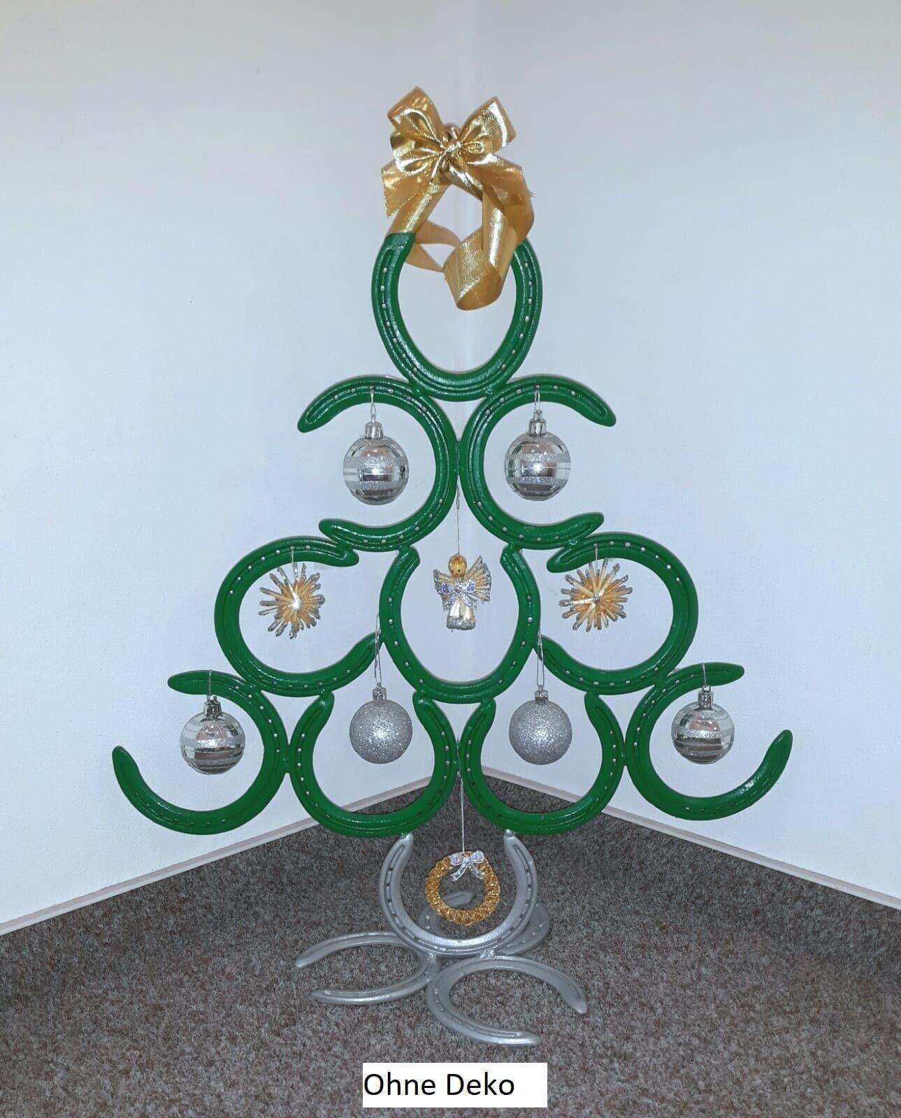 Weihnachtsbaum Kunst Metall Christbaum Tanne Hufeisen Handmade Pferde Pferde Pferde a8957b