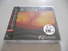 "Metallica ""Reload"" Japan cd Large Box 1997 W/Obi"