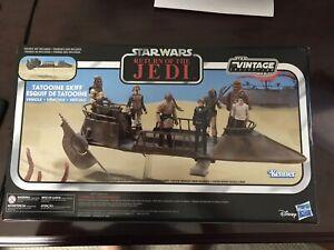Jabba/'s Tatooine Skiff Return of the Jedi TVC Star Wars Vintage Collection
