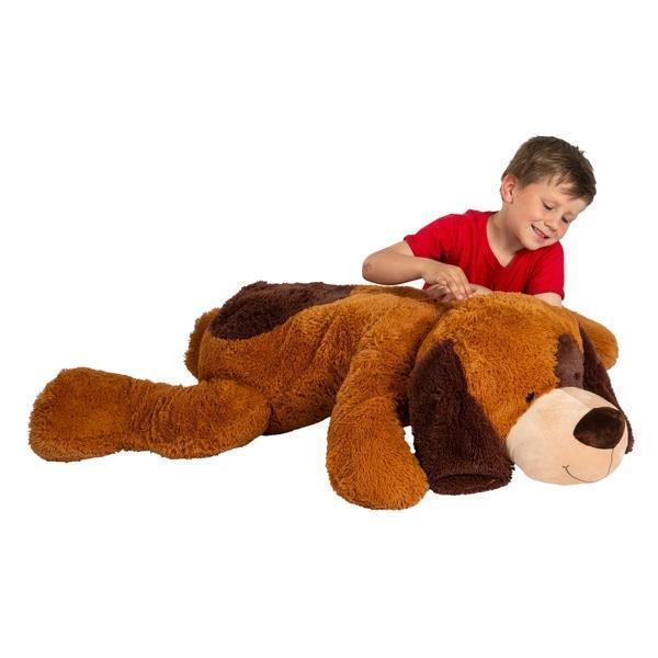Cane GIGANTE TEDDY BEAR 135CM bambini morbido peluche plush peluche giocattolo bambini bambine