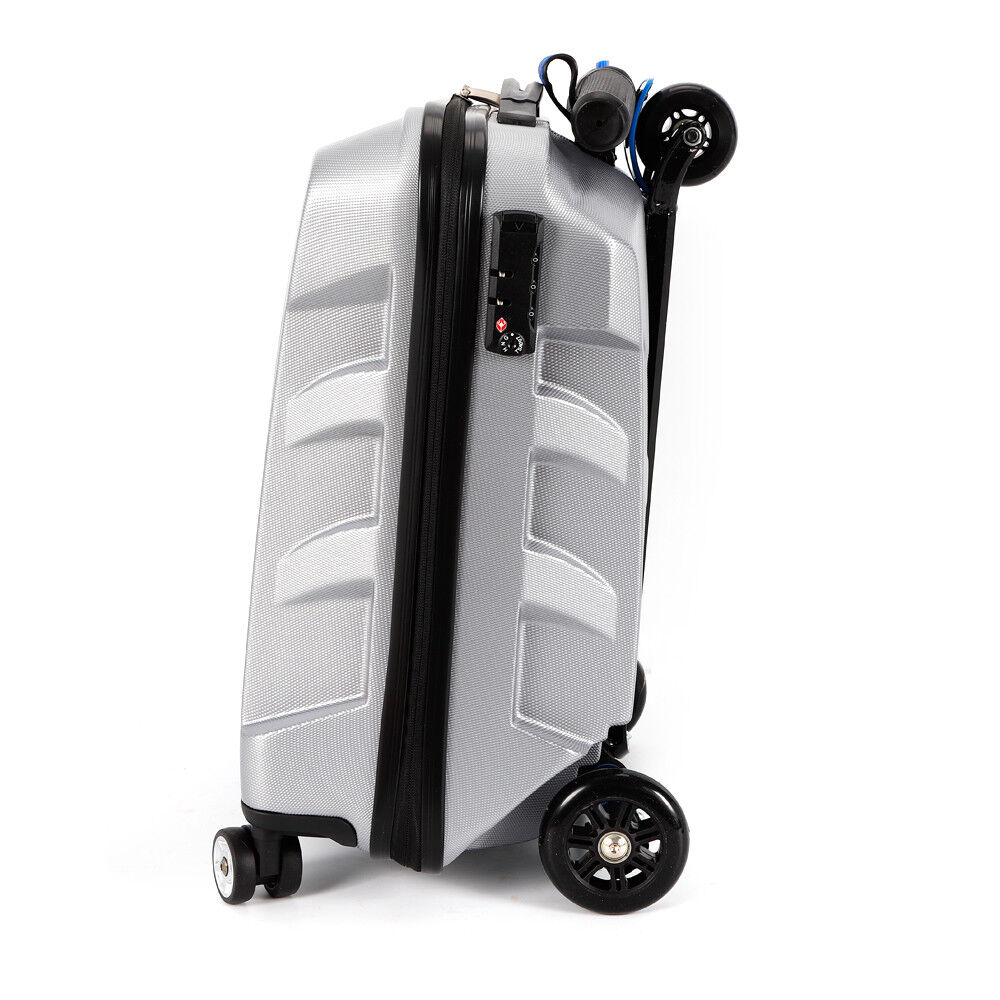 DE Creative Scooter Trolley Case Multi-Function Personalized Suitcase 21Inch 21Inch 21Inch DHL aaa262