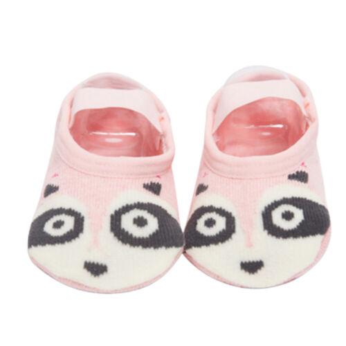 BH/_ Baby Kids Non-slip Cotton Floor Socks Toddler Shoes Slipper Sock Home Soft C