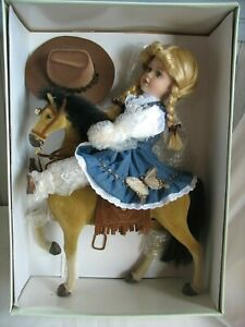 NRFB-NEW-Bob-Carlisle-s-Butterfly-Kisses-Precious-Collectibles-Horse-amp-Doll-3