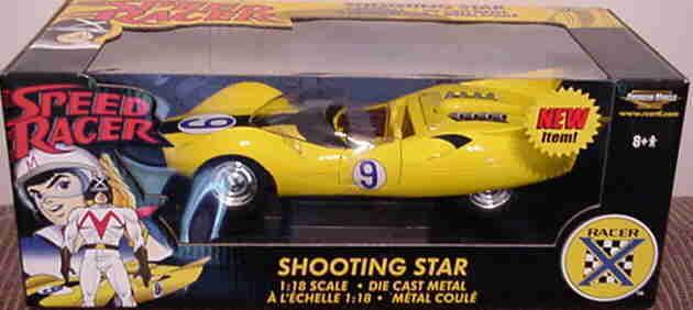 Speedracer étoile filante jaune 1 18 ertl american muscle 33261