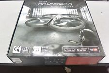 Parrot AR.Drone 2.0 Elite Edition Quadcopter w/Camera Flying RC Vehicle - Snow