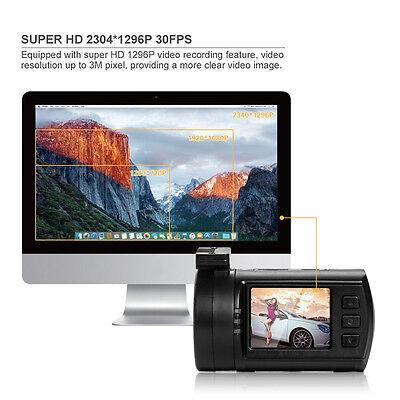 Dash Cam Car DVR Dash Camera 1296p Full HD Mini 0806 Ambarella With GPS Logger