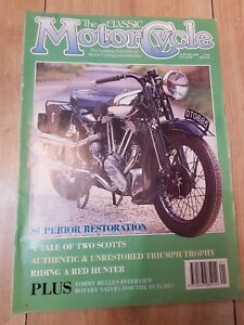 Details about The classic motorcycle magazine triumph trophy the hunter