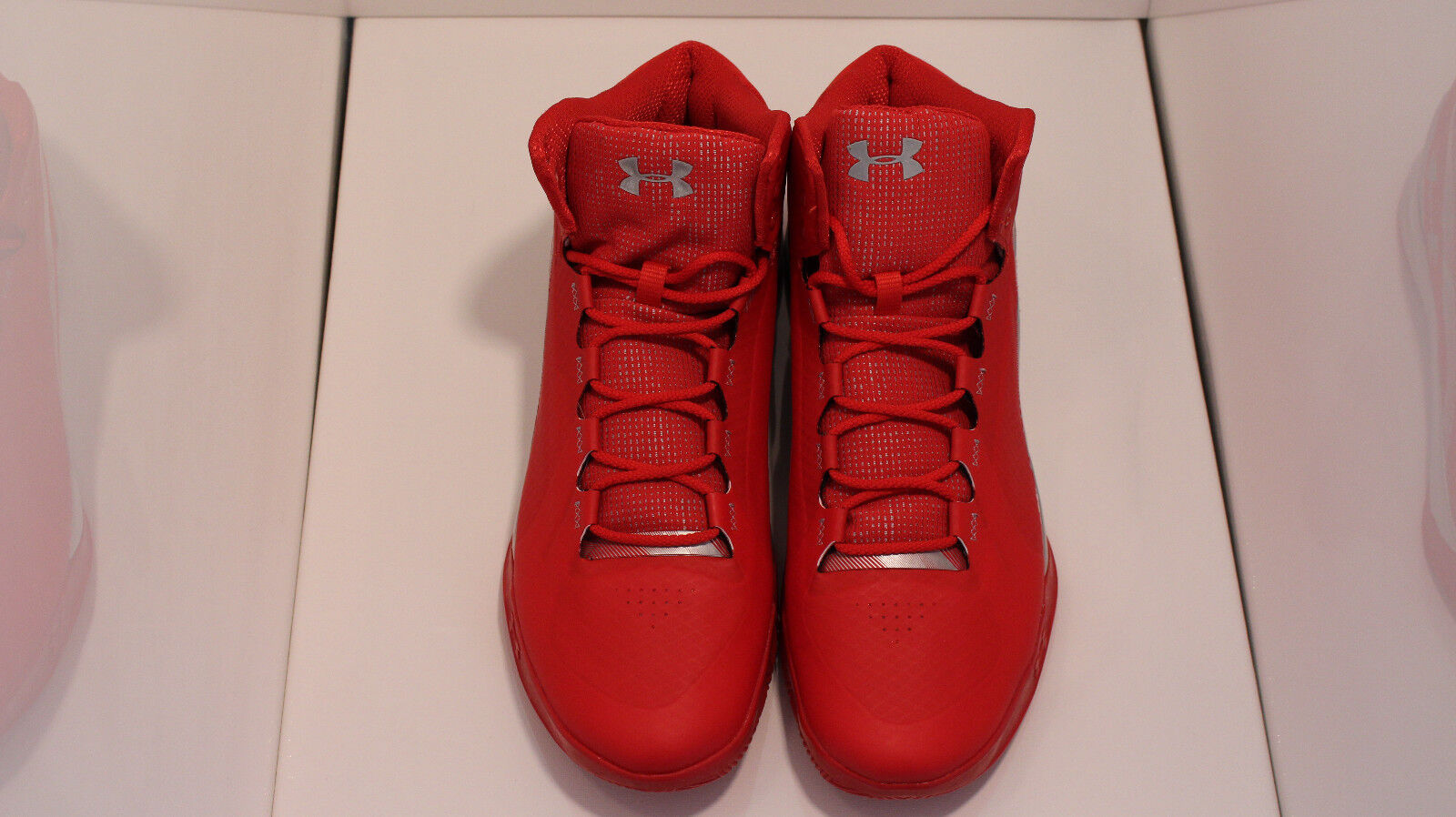 Under Armour Uomo Charged rosso High Top Basketball scarpe scarpe scarpe Sz 13.5 57a58c