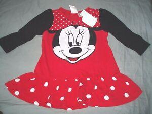 robe-coton-neuve-etiquetee-disney-taille-6-9-mois-minnie