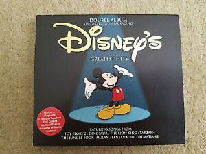 RARE-DISNEYS-GREATEST-HITS-CD-Double-Album-LIMITED-EDITION-PACKAGING-EXCELLENT