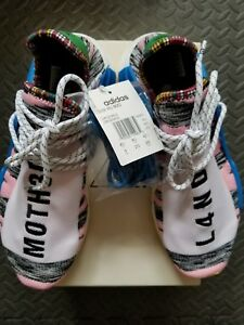 d8bf8324842a6 Adidas BB9531 Human Race NMD HU Pharrell Solar Pink Black US 9 NEW ...