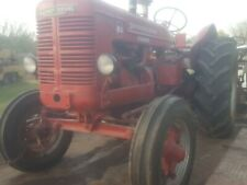 W 4 International Antique Tractor Old Restored Been Stored Inside