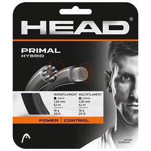 2 Jeux De Tête Primal 16 G Tennis String, Premier Qualité Doux Hybride String-afficher Le Titre D'origine Moins Cher