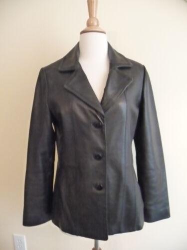 Petite noir cuir en 358 Nouvelle veste Avanti p taille p70EIq
