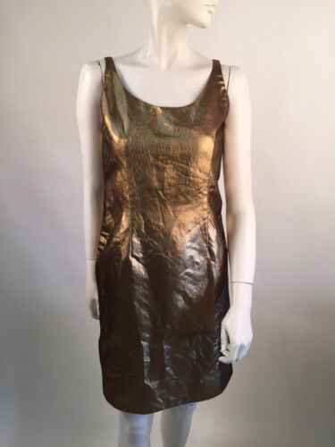 Bill Blass Gold Dress