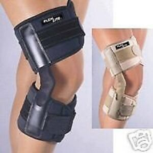 Flexlite Hinged Knee Support Stabilizing Brace Walking FLA Orthopedics