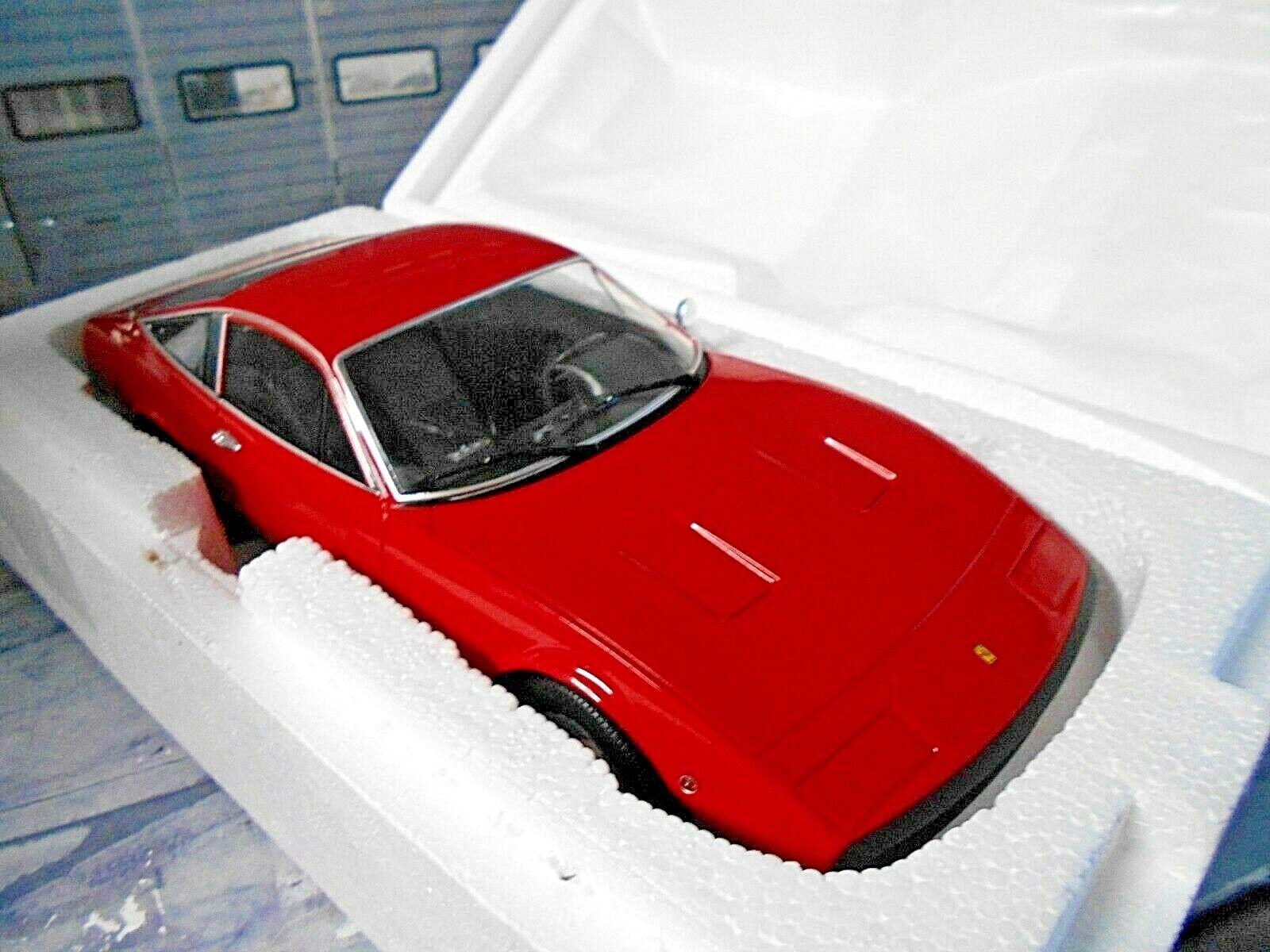 FERRARI 365 DAYTONA GTC 4 gtc4 COUPE 1971 ROSSO rosso METALLO NUOVO KK 1 1000 1 18