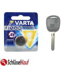 VARTA Autoschlüssel Batterie für Toyota Auris Avensis Aygo Corolla RAV4 Yaris