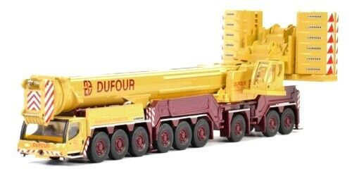 """Belgique WSI Echelle 1//87 Ho Camion-grue Liebherr LTM 1750 /""""Dufour/"""""""