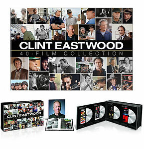 Clint-Eastwood-40-Film-Special-Collection-24-Disc-Gift-Box-Set-DVD-w-Book-NEW
