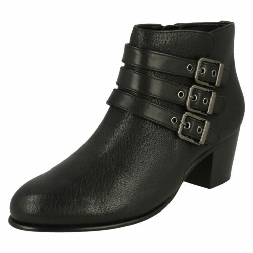 Black Ankle Clarks 'maypearl Boots Ladies Rayna' XRcpqOw