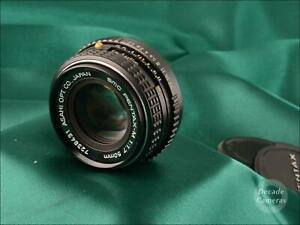 Pentax SMC-M 50mm f1.7 Fast Aperture Standard Prime Lens - Excellent - 1359