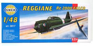 SMER-REGGIANE-Re2000-Falco-Jagdflugzeug-WW-II-Italien-Bausatz-1-48-0817