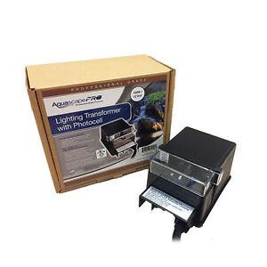 Aquascapepro 150 Watt Lighting Transformer With Photocell