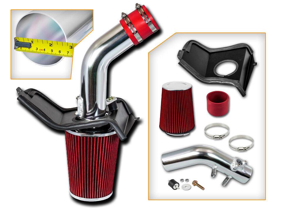 Red K/&N Filter for 10-14 Legacy 2.5 NonTurbo HPS SRI Short Ram Air Intake