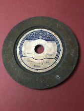 Vintage Norton Grinding Wheel 12 X 34 X 1 12 Recessed One Side 1910 Rpm