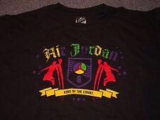 Vintage 1990's Air Jordan king of the court T-Shirt basketball nike XL