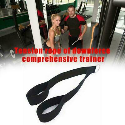 Tricep Rope Pull Down Fitness Laterals Biceps Muscle Sport Training Indoor