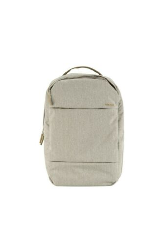 """Incase City Commuter Backpack For MacBook or Any 17/"""" Laptop New Heather Khaki"""