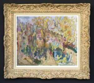 Raya-safir-1909-2004-fauve-landscape-painting-of-provence-1950-214