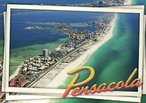 Image Is Loading Aerial View Of Pensacola Beach Florida Hotels