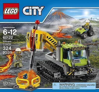 Lego City Volcano Adventurer NEW