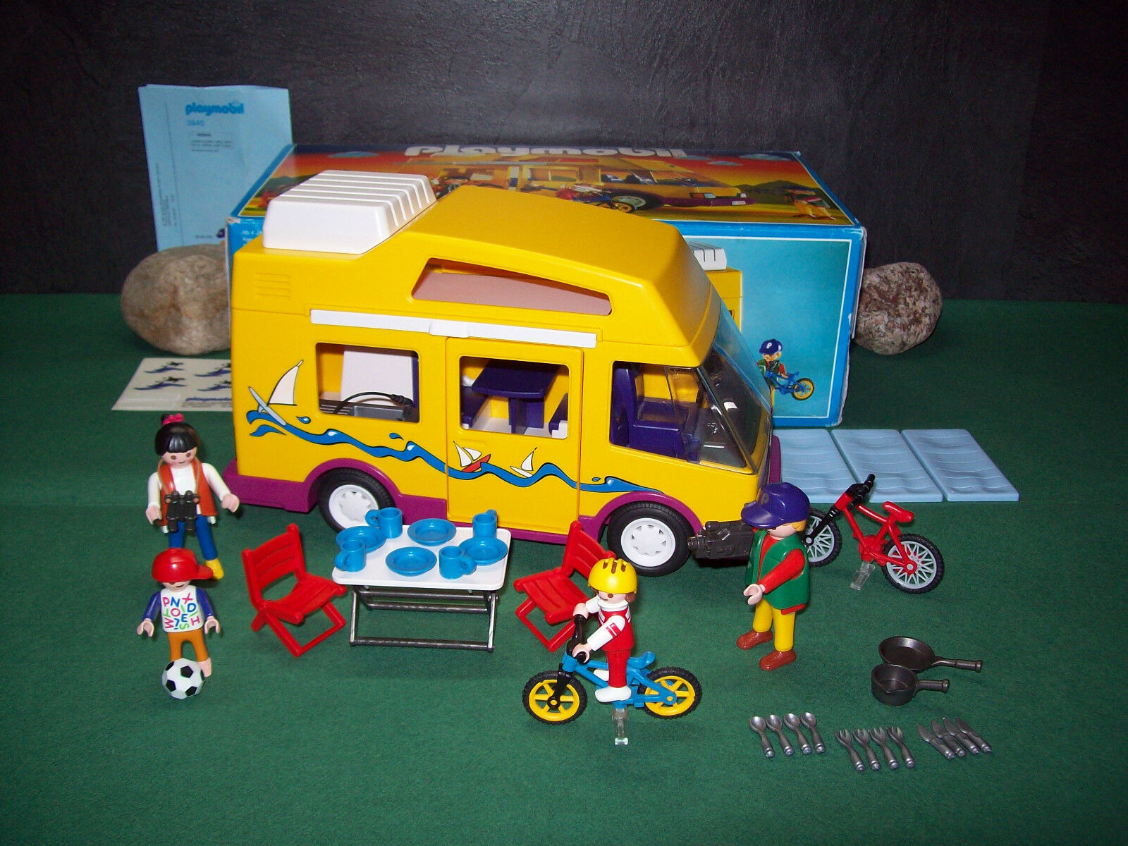 Playmobil Camper 3945-A 1997 mit Orig.-BA und OVP