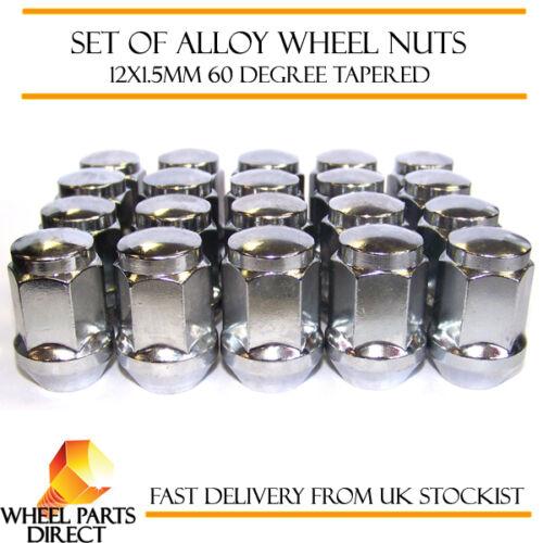 RUOTA in lega NUTS 12x1.5 Bulloni conici per FORD GRAND C-MAX 10-16 20