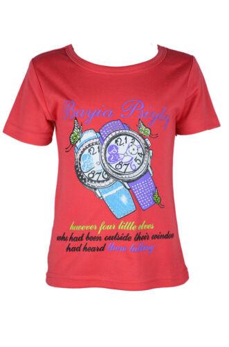 Mädchen T-Shirt Kurzarm Shirt  Sommer Oberteil Sale!! restposten Gr.92,98//104