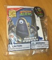 Lowe's Build And Grow: Monsters Vs Aliens Robot Puppet + Patch