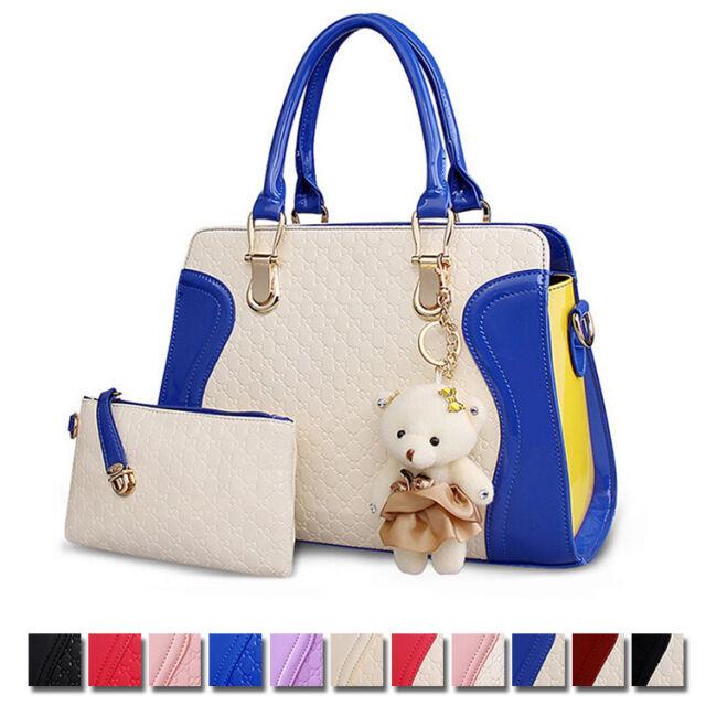 Women's New Messenger Shoulder Bag Satchel Embossed Handbag  Purse Tote Gift
