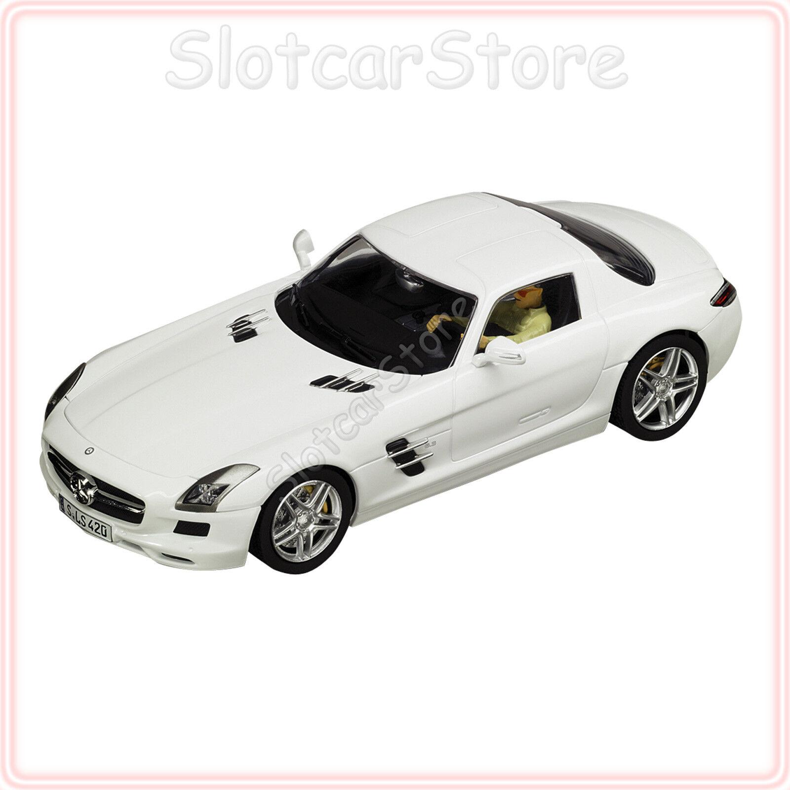 Carrera Evolution Evolution Evolution 27345 Mercedes SLS AMG Coupe weiß (Weiß) 1 32 Slotcar Auto  | Deutschland  4e10c1