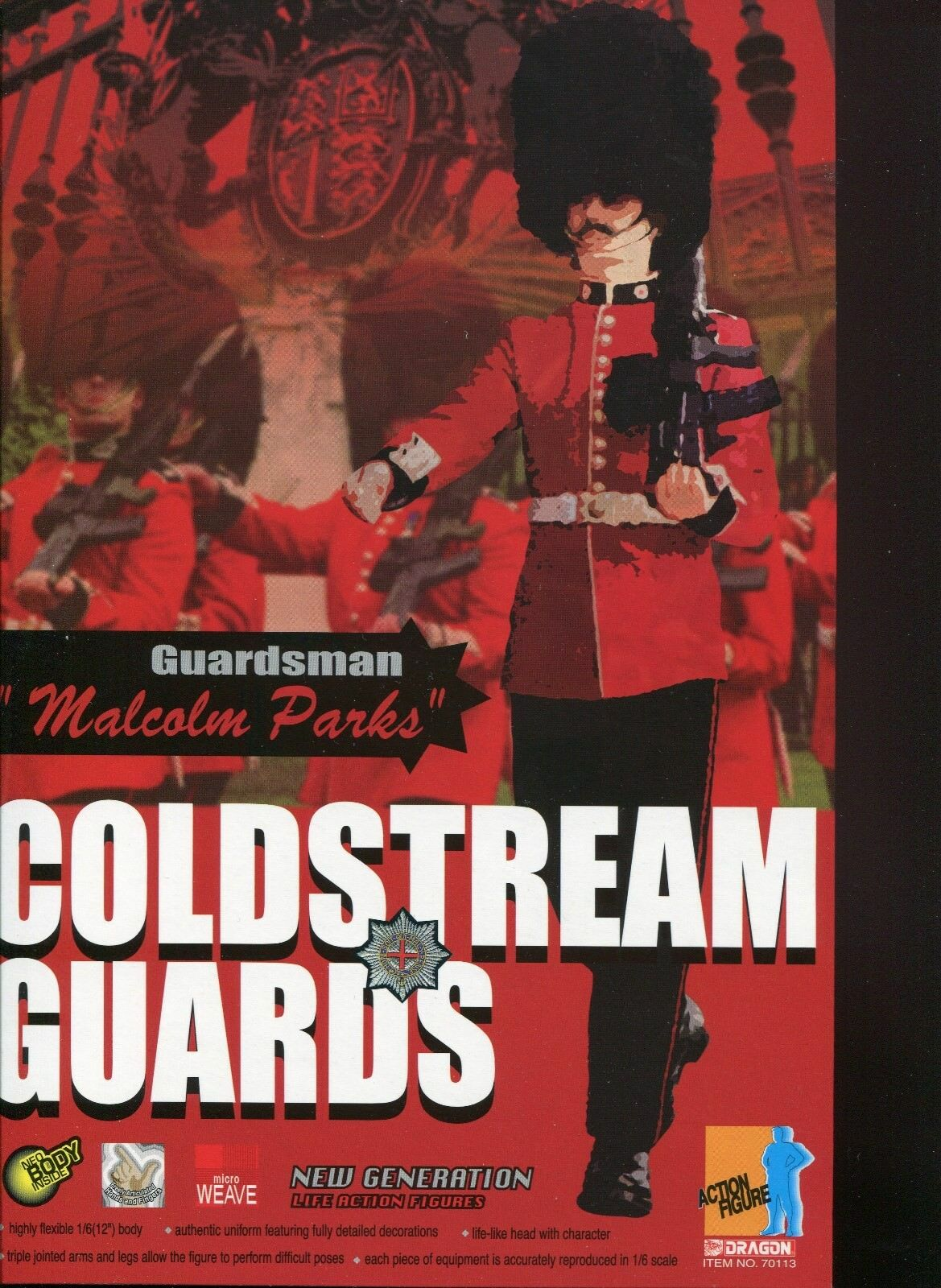 British Coldstream Guard  Malcolm Parks 1/6 Signature Elite Series