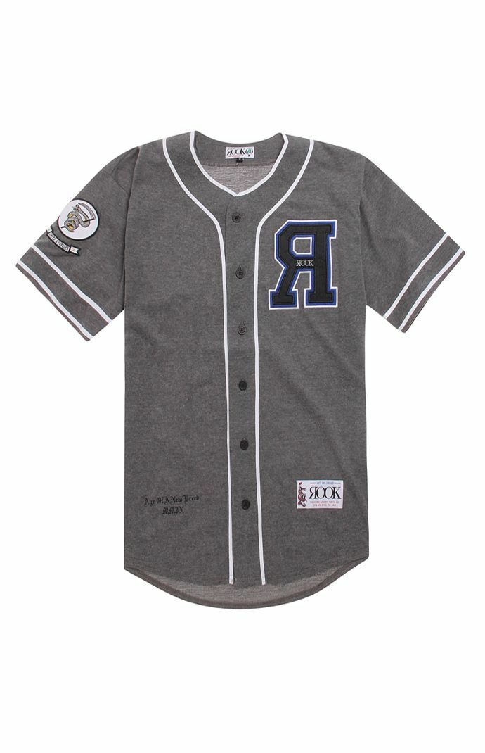 Rook Trolley Dodgers Jersey (XXL) Charcoal