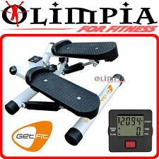 GetFIT - SWING STEP mini stepper con movimento OBBLIQUO / LATERALE e computer