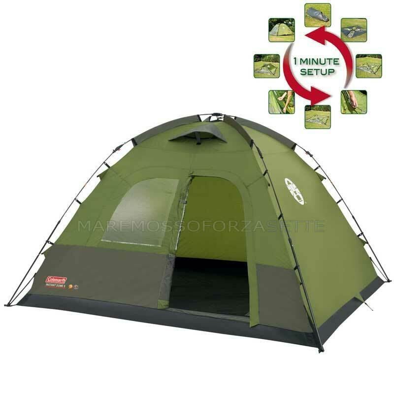 Tente pour Camping Coleman Instant Dome 5 Tent Coleman Instant Dome 5