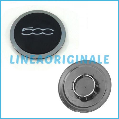 Coppetta ORIGINALE Fiat 500 cerchi lega borchia coppa ruota cromatura 51884863