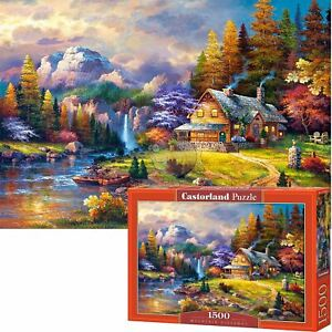 Castorland 1500 Piece Jigsaw Puzzle Mountain Hideaway