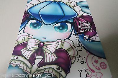 Doujinshi POKEMO Glaceon X Sylveon X Espeon B5 22pages Miracle Candy Bokutach